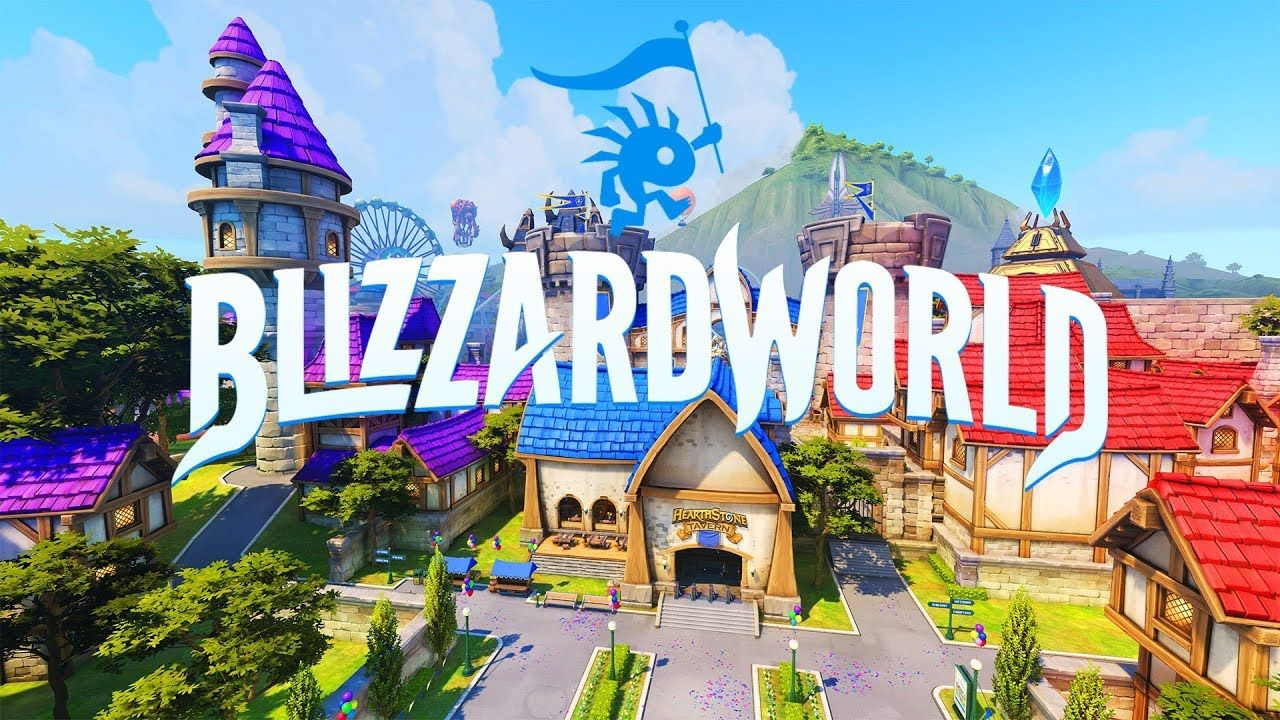 TO THE BLIZZARD WORLD OVERWATCH NEW MAP UPDATE