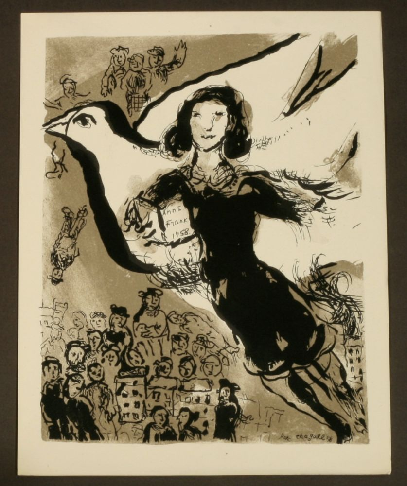 Image result for Anne Frank Marc chagall