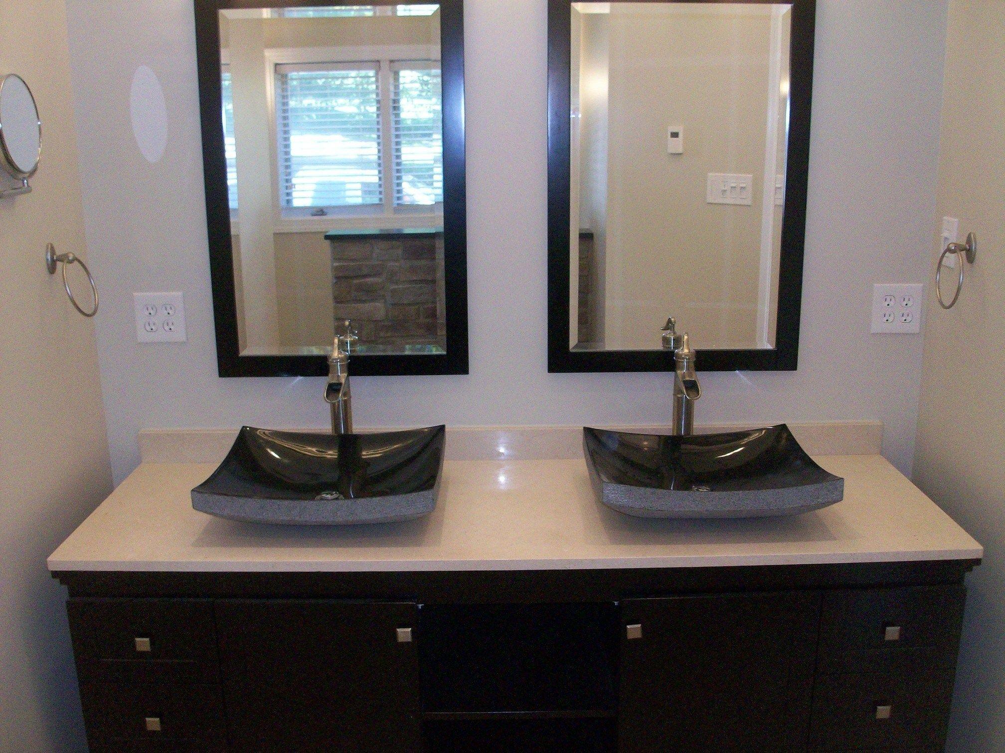 More Click Bowl Sinks For Bathrooms Cabinet Kohler Vanity