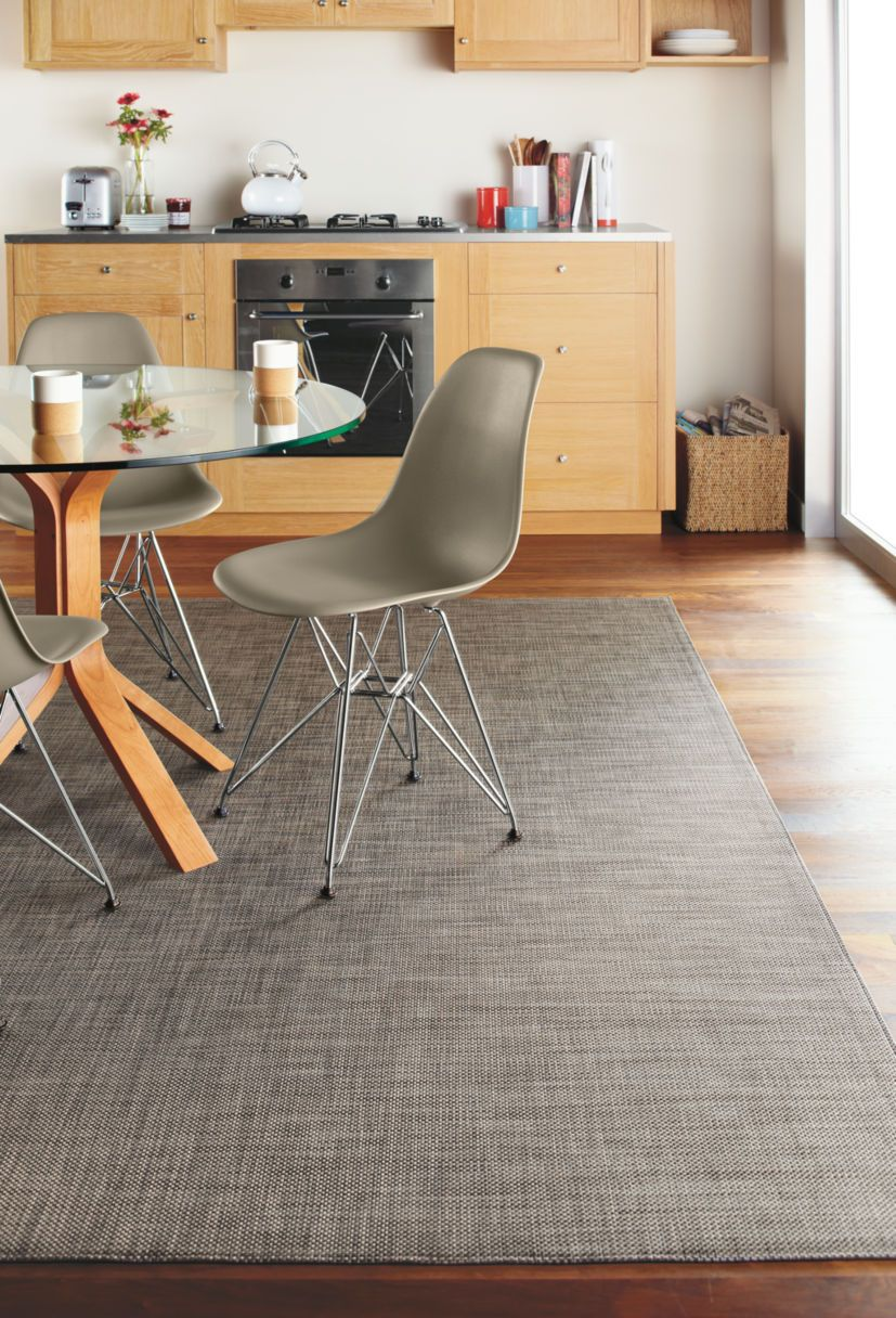 Chilewich Mat Under Dining Table Instead Of Cowhide Rug Brian Also - Dining table carpet mat