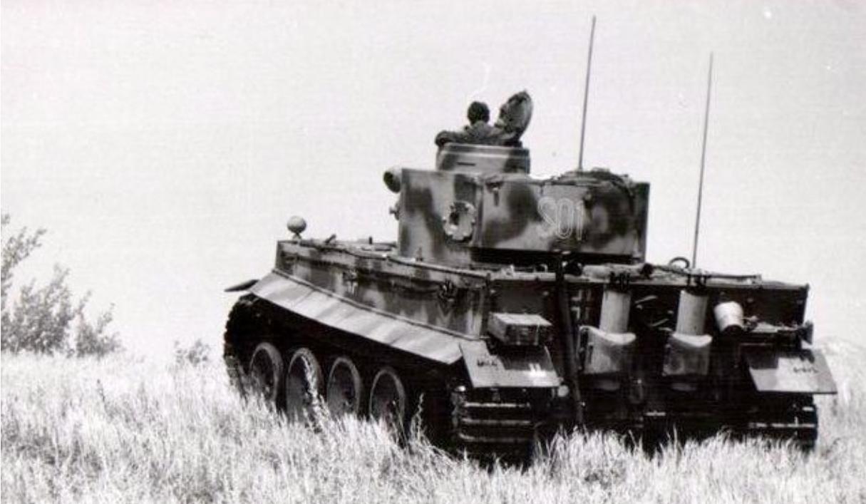Tiger S01 Das Reich. A Befehls(Command) Tiger. Kursk Battle 1943 ...