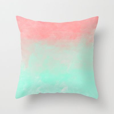 Watermelon Throw Pillow by Joy Laforme - $20.00