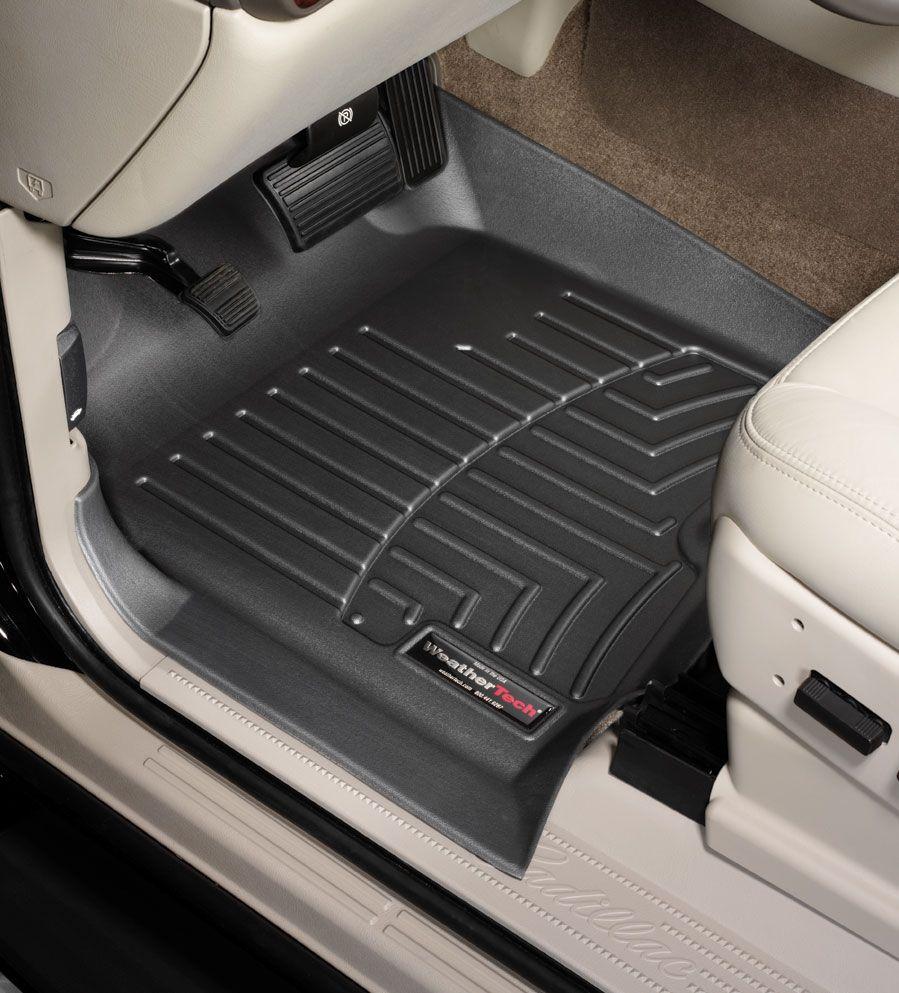 Weathertech Digitalfit Floorliners Black Front Pair Hyundai