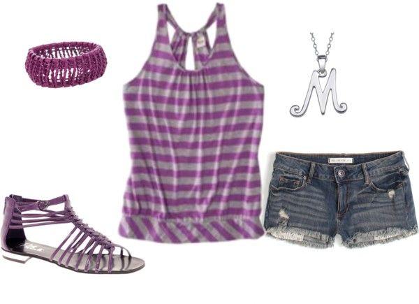 Purple!, created by samanthavan on Polyvore