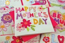 Resultado de imagen para tarjetas manuales para mamá