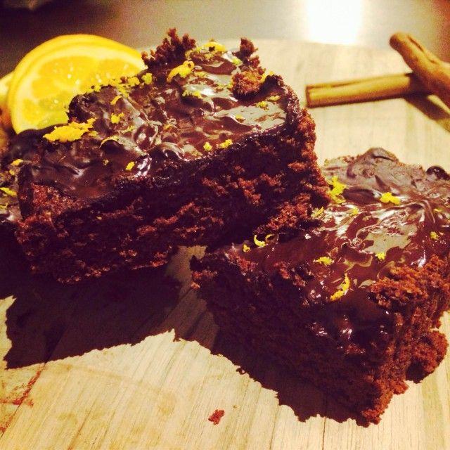 Spiced Orange Brownies #Grain Free | Primal Piggy