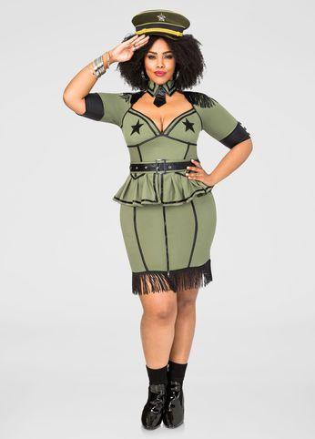 sexy army brat plus size costume   spooktacular halloween