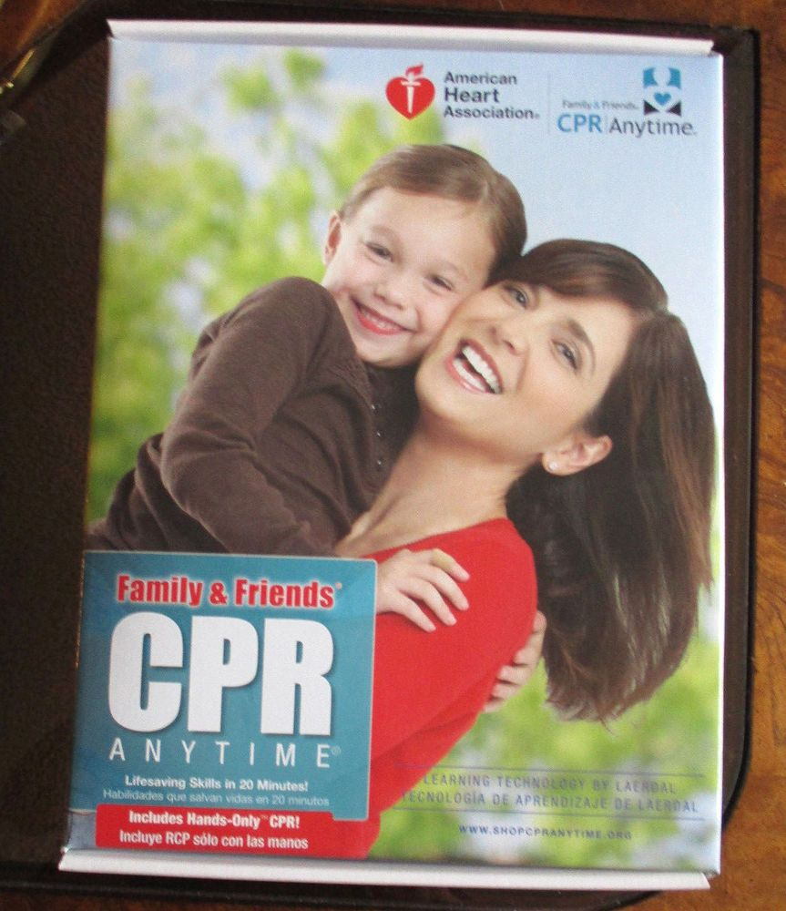 CPR ANYTIME TRAINING KIT FROM AMERICAN HEART ASSOCIATION