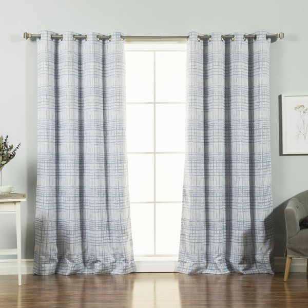 Trendy And Modern Sketched Grid Curtains Add Visual Interest To Your Windows Triple Weave Construction Helps Block Light Drafts For Maximum In
