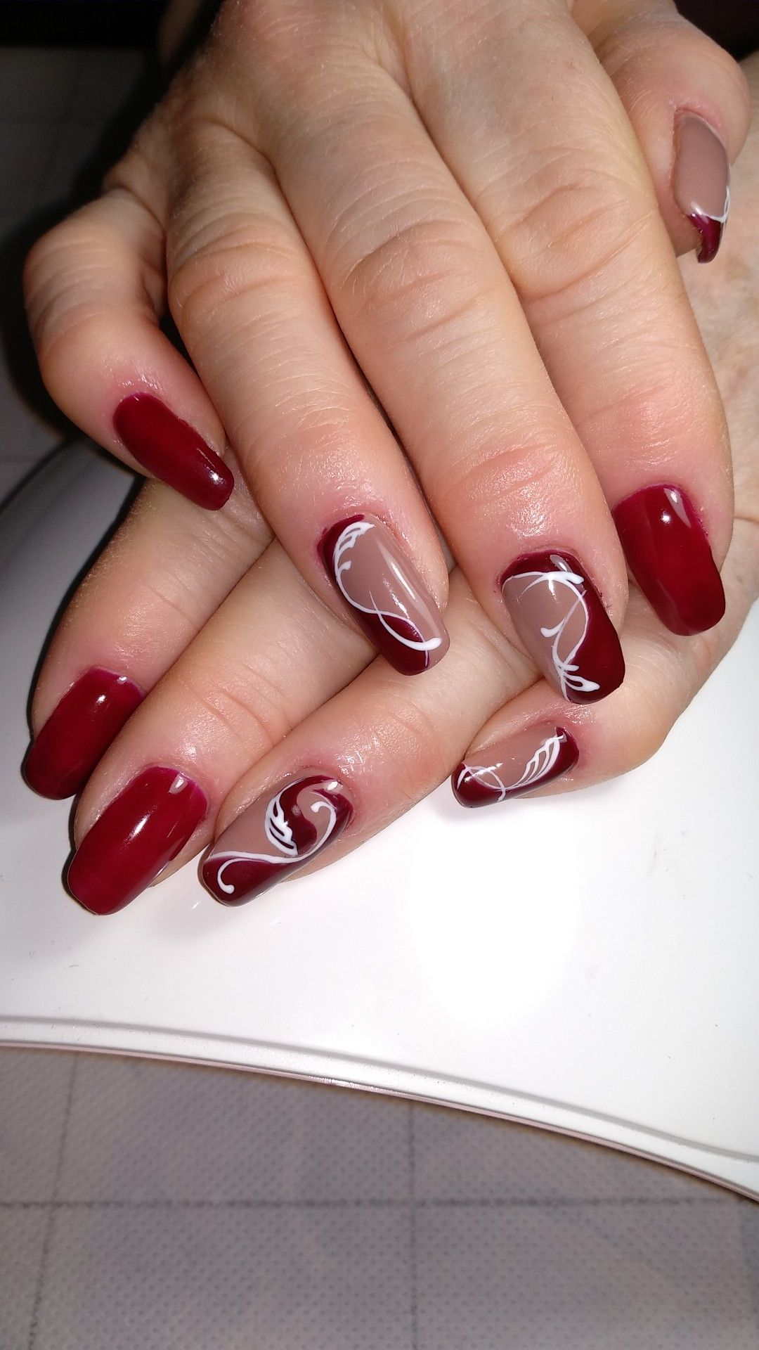 Schone Nagel Pin Von Sabine Hauke Auf Nageldesign Nail Designs Christmas