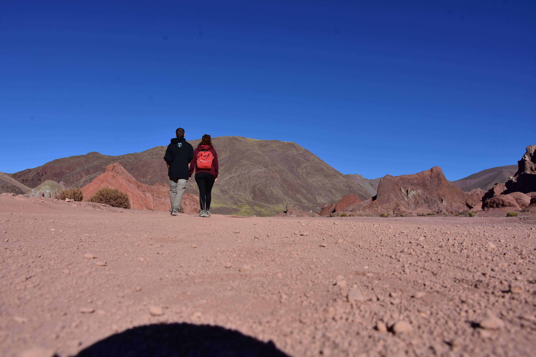 Distintos colores en el valle arociris, Atacama, Chile