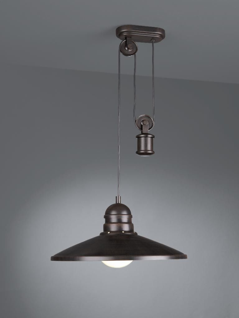 Rustic Rise and Fall Pendant Ceiling Light   Retro Decor Style By     Rustic Rise and Fall Pendant Ceiling Light   Retro Decor Style By Philips    eBay