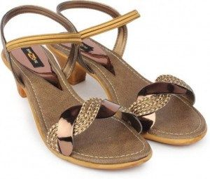 d308515dfcd30 Shezone women brown heels online shopping India