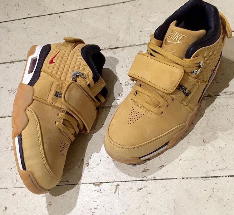 Nike Air Trainer Victor Cruz Wheat colourway