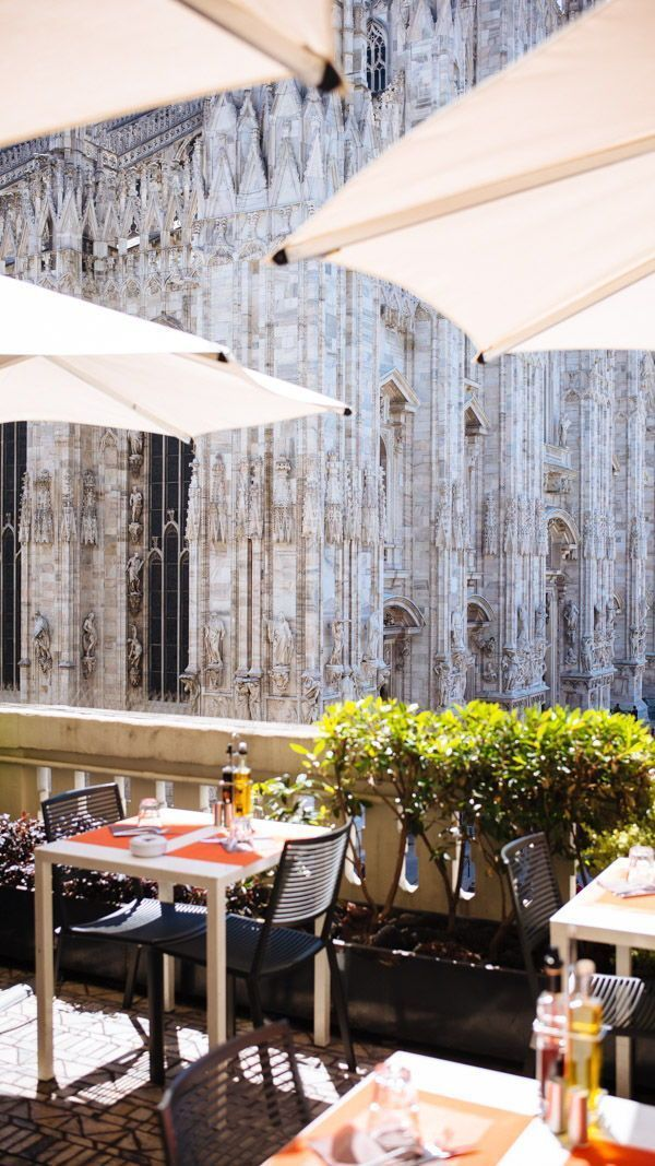 Go To The Terrazza Aperol For An Aperol Spritz Overlooking