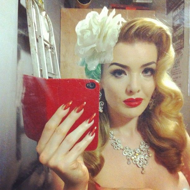 Rockabilly Makeup Photoshoot By Paloma Ortiz: Pin On Perdy Stufff