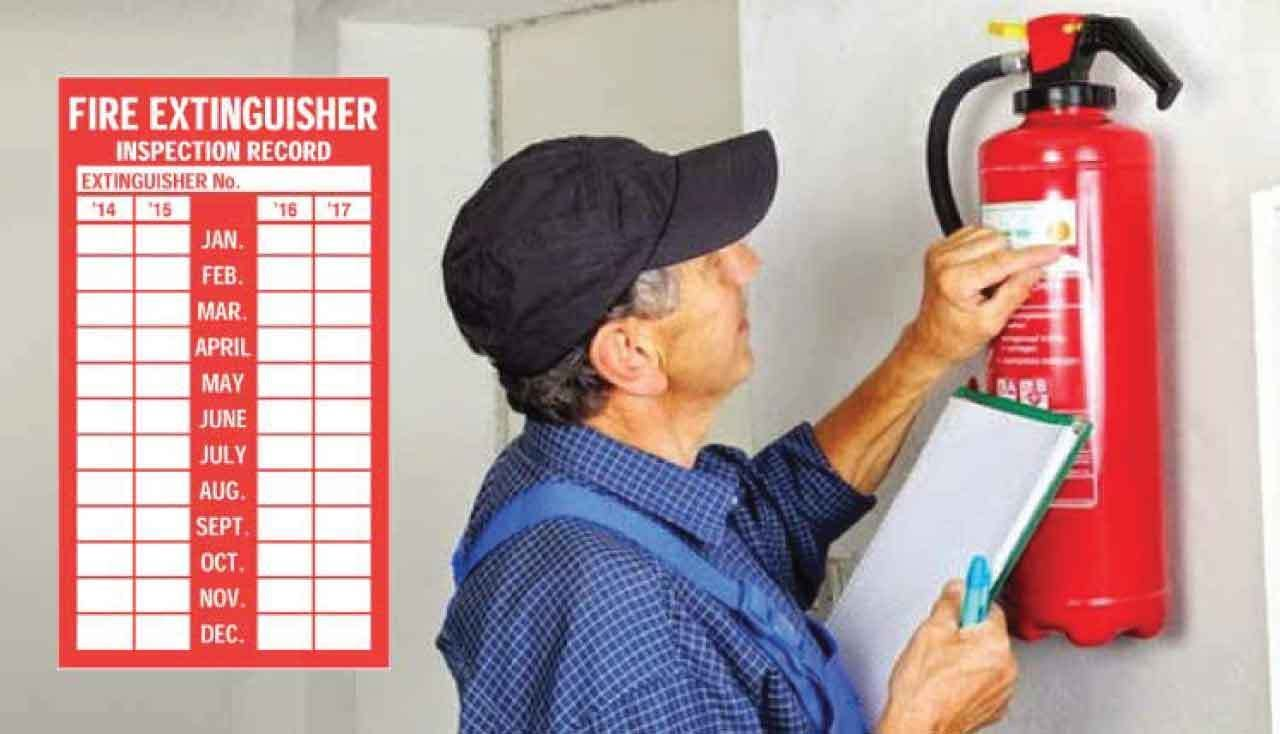 What Happens During a Fire Extinguisher Inspection Fire
