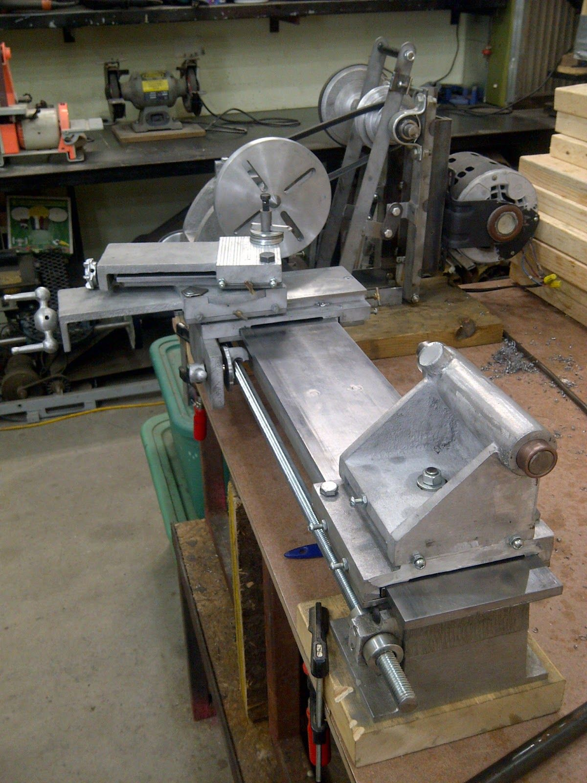 Another Day Project Building My Own Gingery Metal Lathe