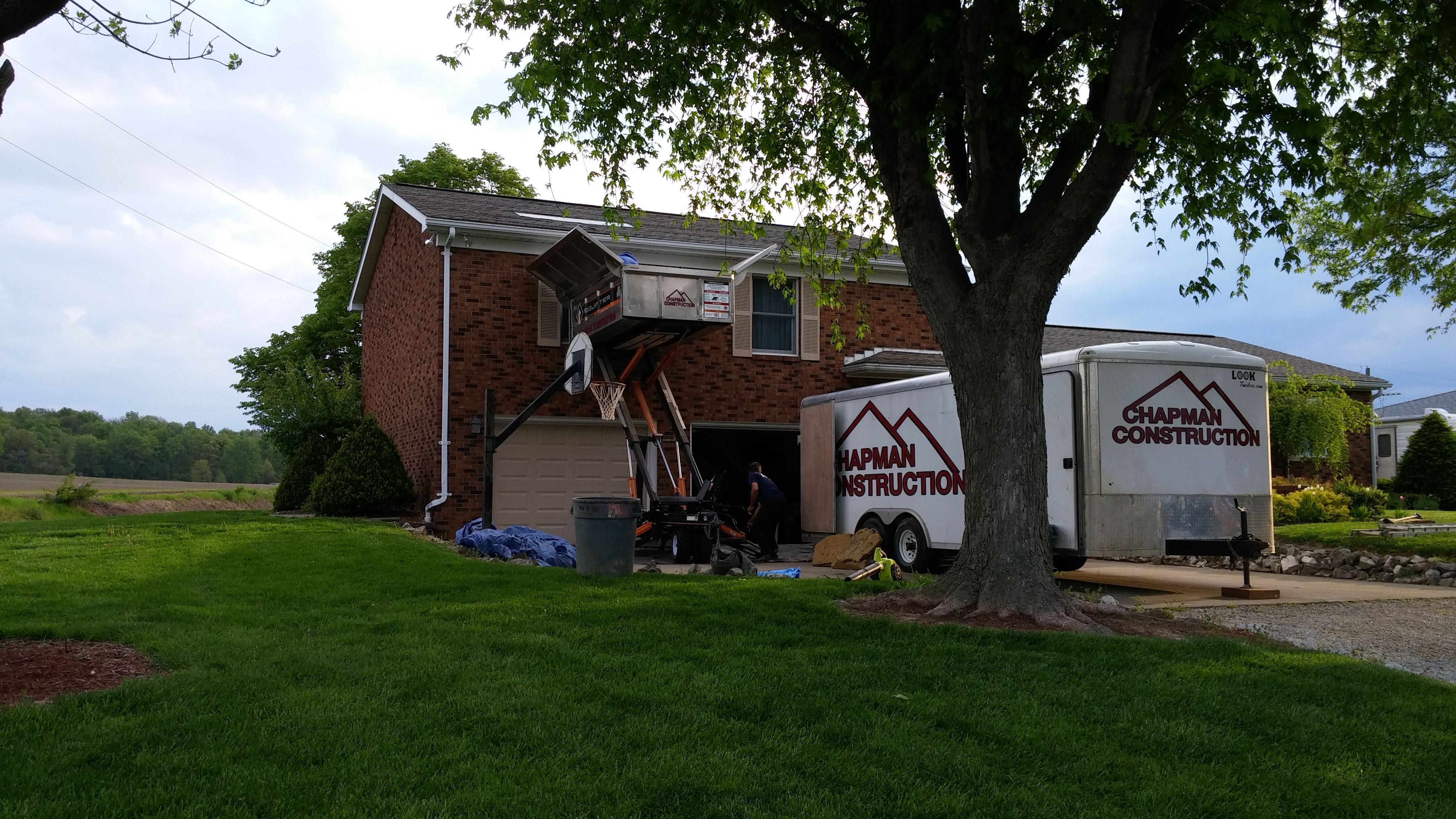 Evansville Roofing, Siding, Gutters Chapman Construction