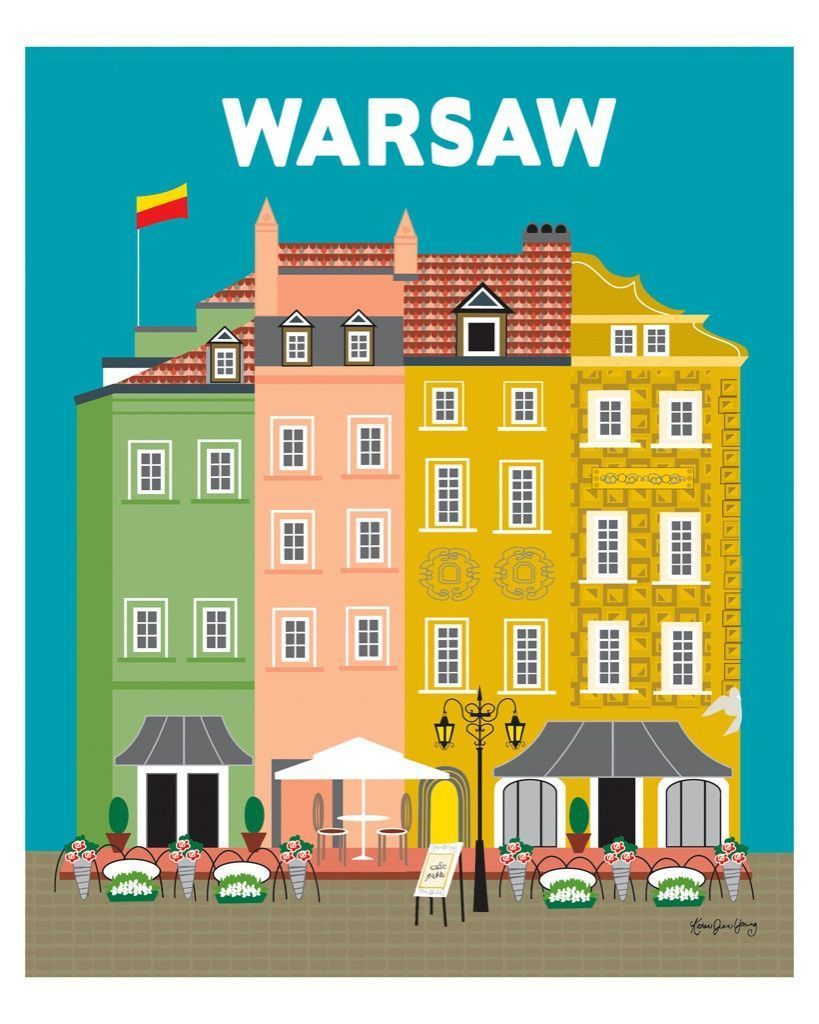 Warsaw, Poland | Warsaw, Poland and Travel posters