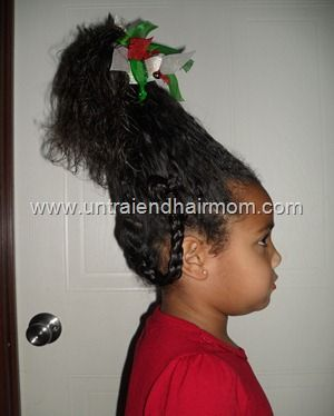 Cindy Lou Who Christmas Hairstyle Cindy Lou Who Hair Christmas Hairstyles Holiday Hair Inspiration