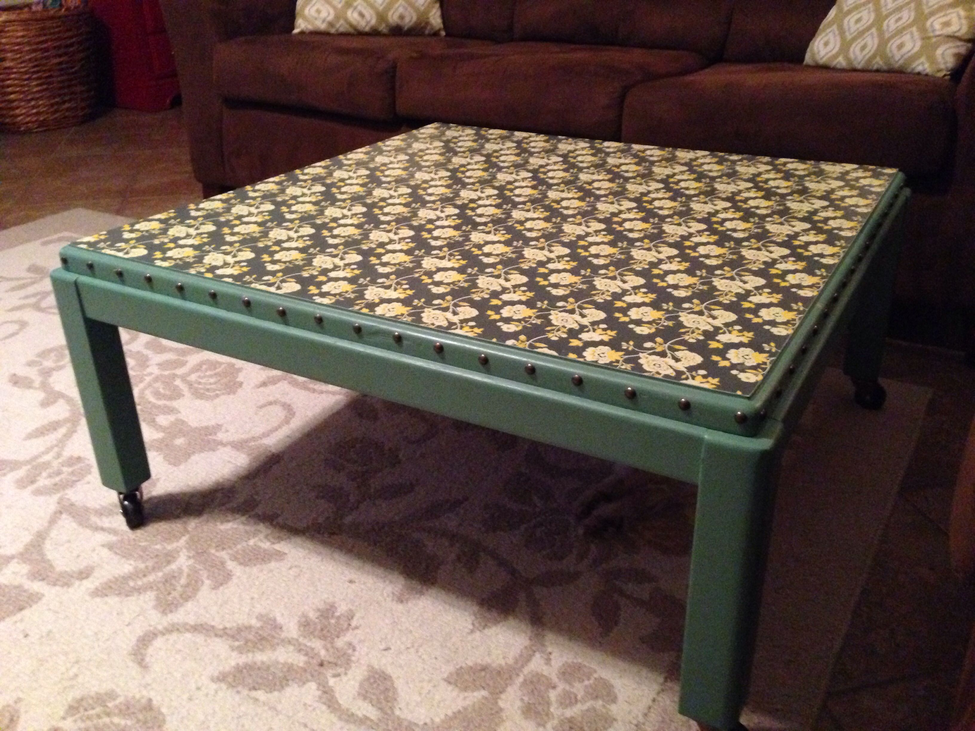 Outstanding Diy Coffee Table 15 Table From Goodwill Paint Put Swivel Theyellowbook Wood Chair Design Ideas Theyellowbookinfo