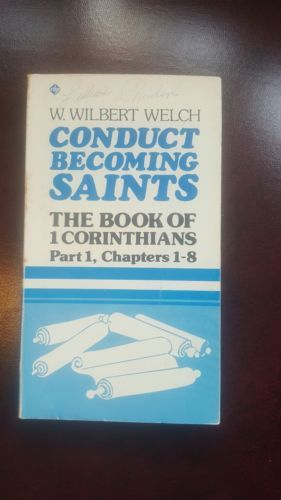 Study Guide Conduct Becoming Saints The Book Of  Corinthians Paperback Study E Book Posted  Conduct Fitting Saints The E Book Of  Corinthians