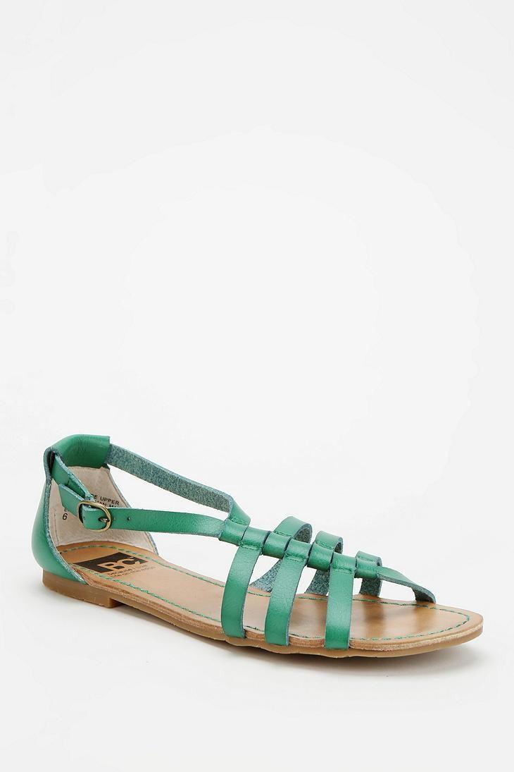 BC Footwear At Large Diagonal Strap Sandal #urbanoutfitters