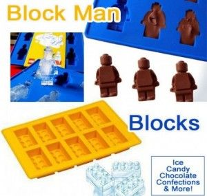 Do your kids love Legos? Get a Lego Man or Blocks Baking Mold/Ice Cube Tray  for $4.99 shipped
