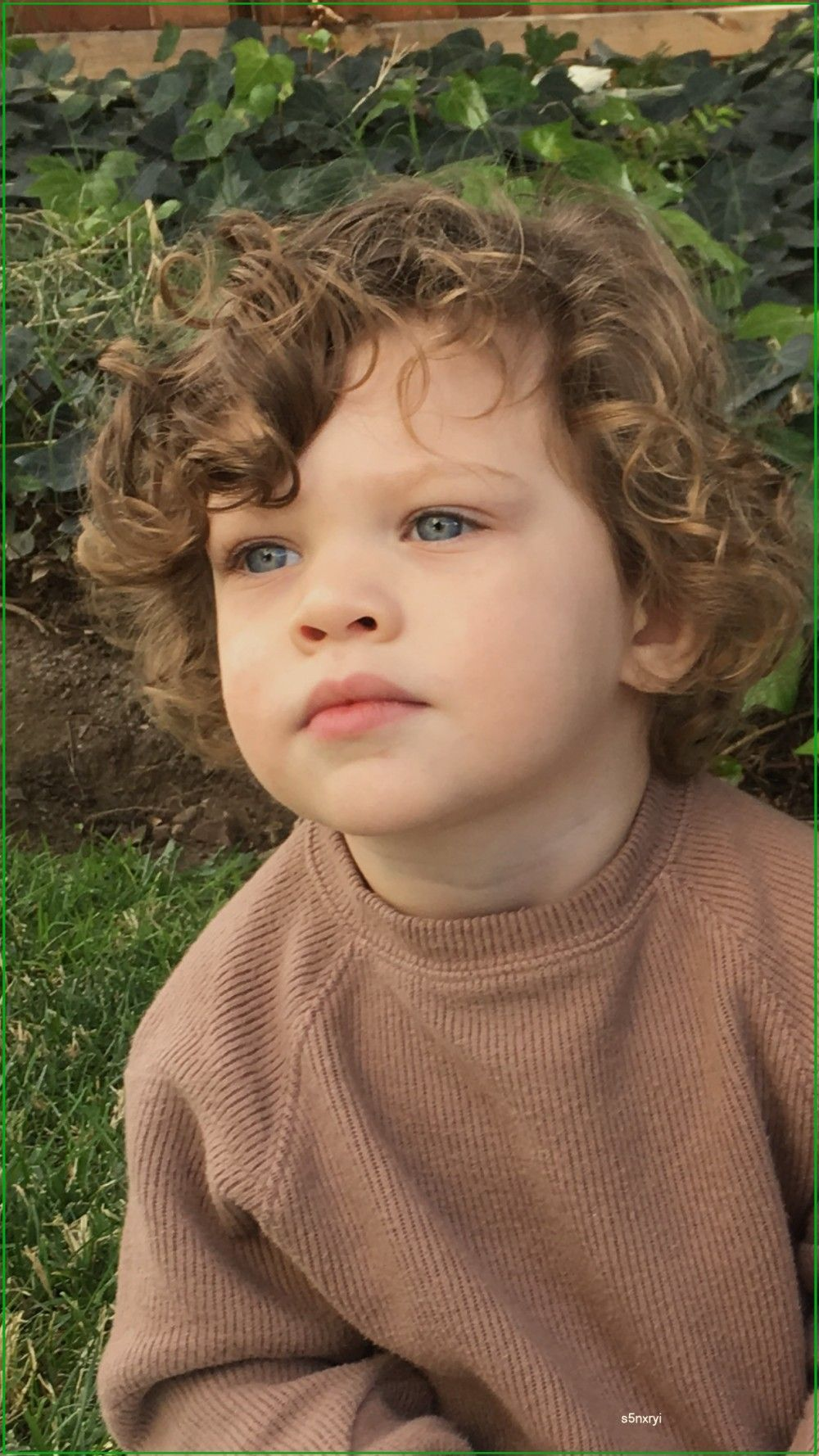Lennox Curly Hair Baby Boy Curly Hair Baby Toddler Curly Hair