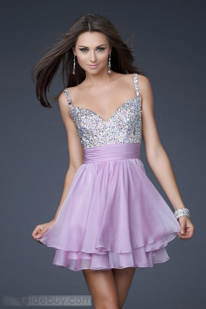 Gorgeous A-Line Mini/Short-Length Cocktail/Evening/Homecoming Dresses