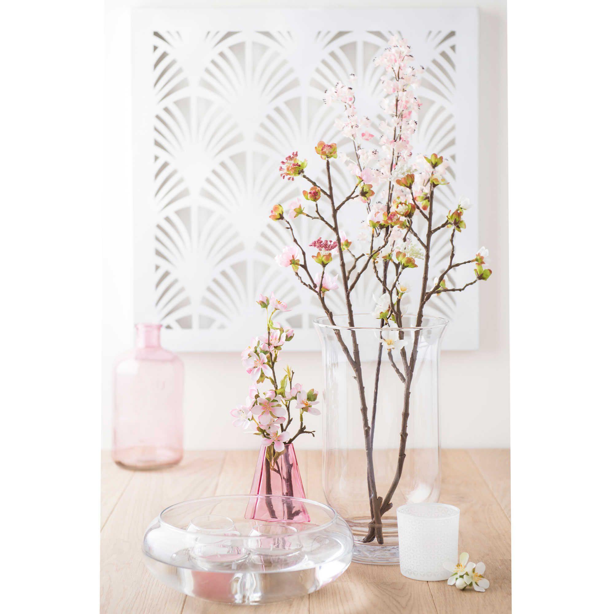 coupe bougie flottante en verre h 8 cm maisons du monde romantique bougie maison du. Black Bedroom Furniture Sets. Home Design Ideas