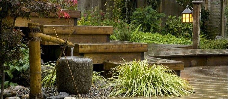 jardines zen fuentes bambu - Fuentes Zen