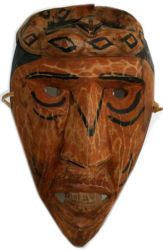 Indian Masks | Native American Art- Cherokee Indian Wood Carving ...