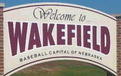 Nebraska State Baseball Capital Wakefield Ne Nebraska State Nebraska State Symbols