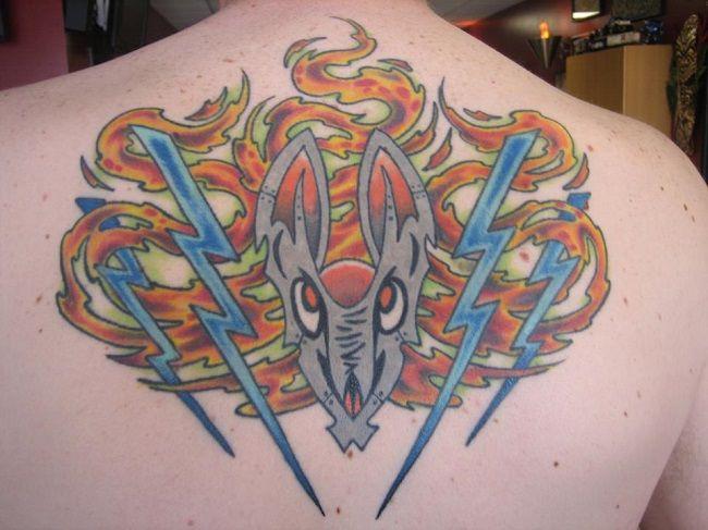 Matt Victor | Tribal Rites Tattoo and Piercing | Lightning Eagle ...