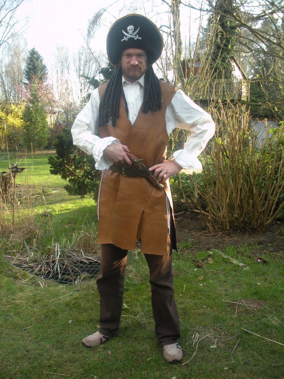 Piratenkostüm für die Piratenkiste