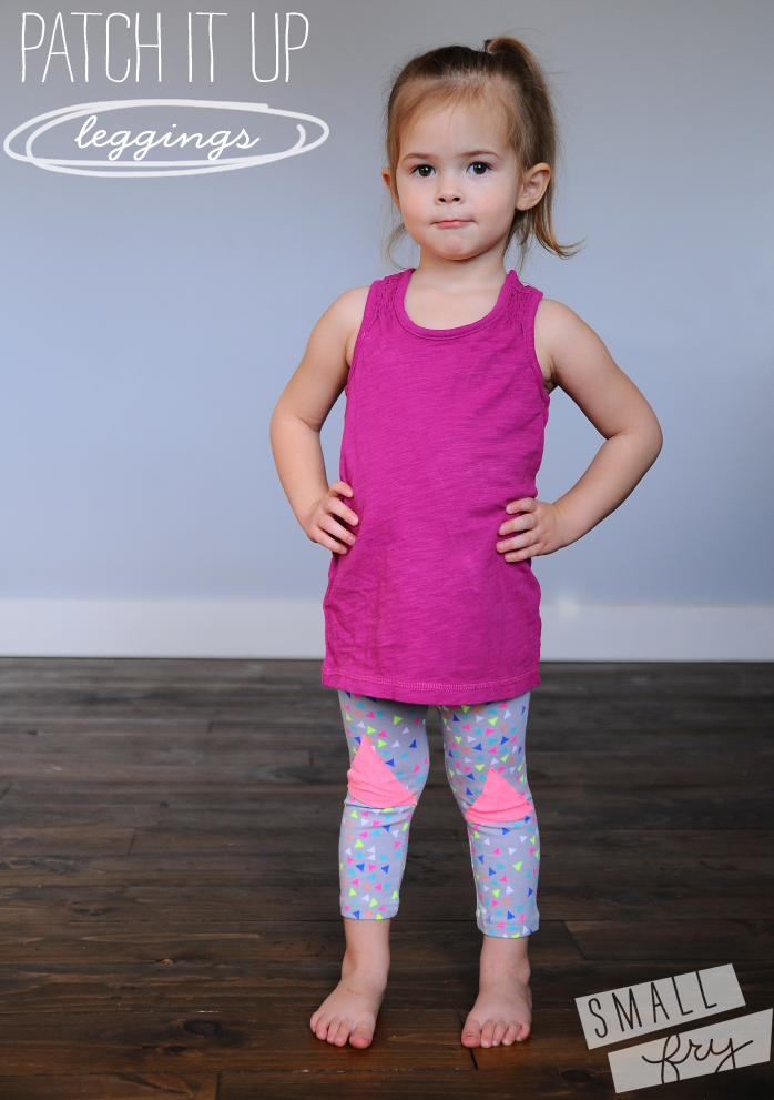 Add patchwork to inexpensive leggings from Target, Wal-mart, and the ...