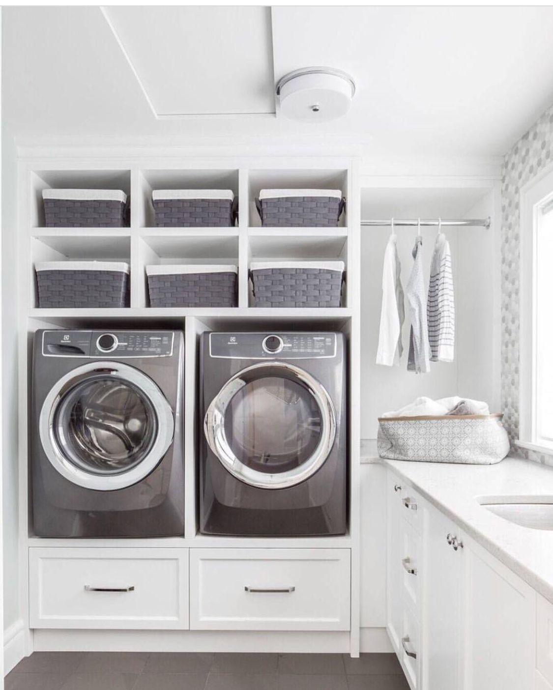 Pin Von Doubleu Auf Laundry Room Storage Waschkuche
