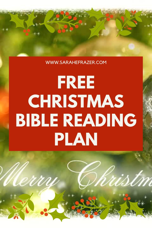 Free Christmas Bible Reading Plan In 2020 Bible Reading Plan Read Bible Christmas Bible