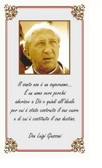 Anniversario Di Matrimonio Giussani.Don Giussani La Santita Non E Coerenza Ma Tensione All Ideale Per