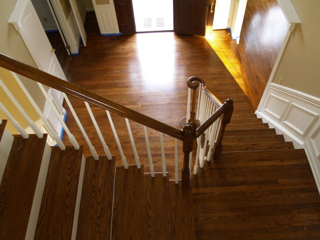 Images Of Hardwood Stairs With Different Stain Color Than The