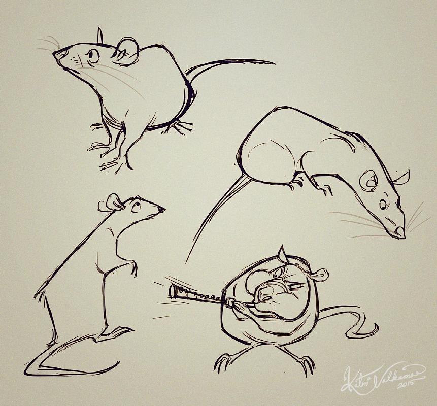 этой рисунки животных крысы обязательно ехать далеко
