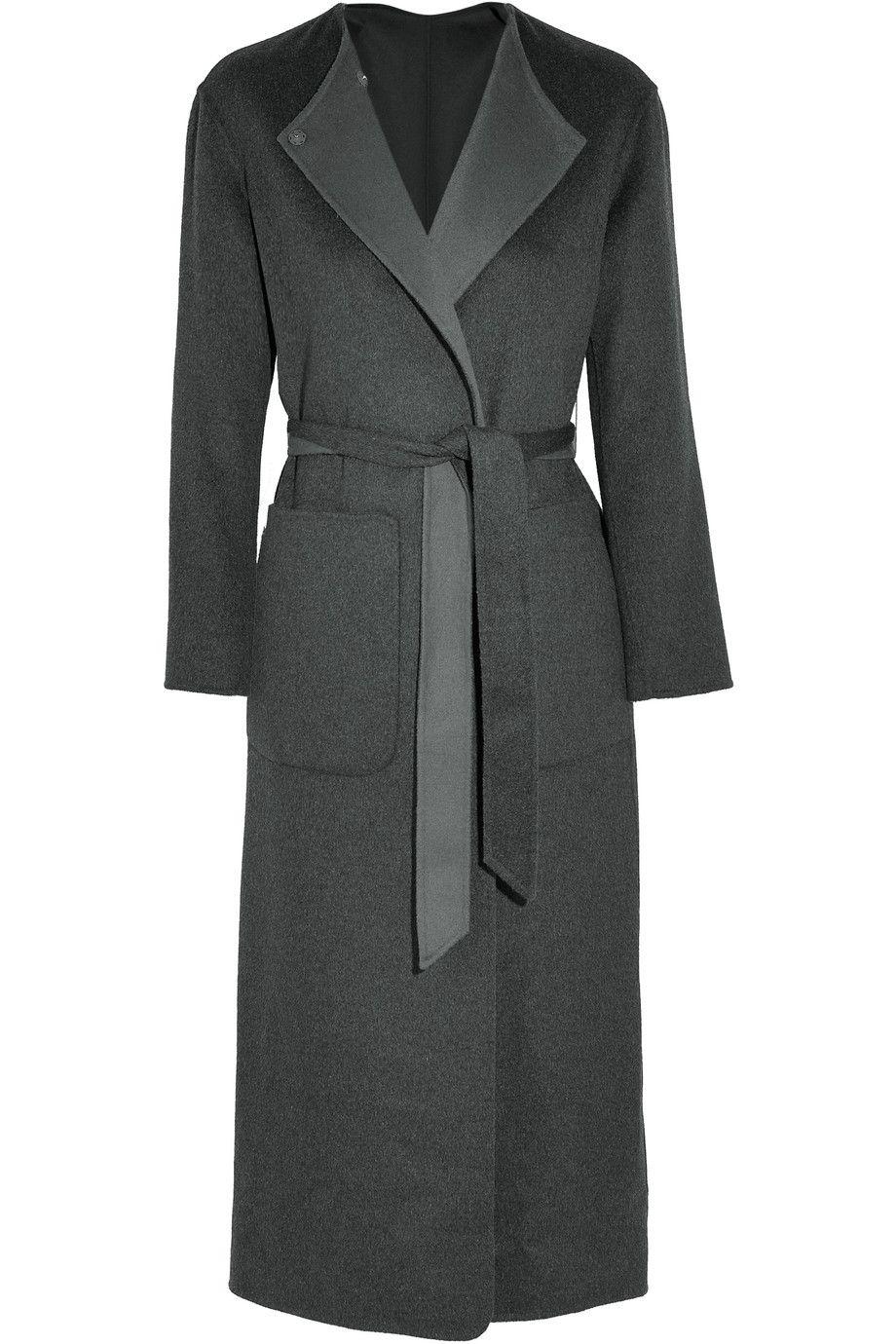 67e1ac07b762 Iris and Ink Esmeralda reversible belted cashmere coat   Пальто ...