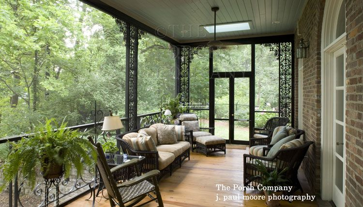 Inspiring Screen Porches Pictures With