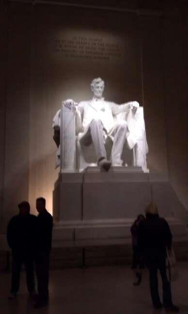 Lincoln Monument, Washington DC