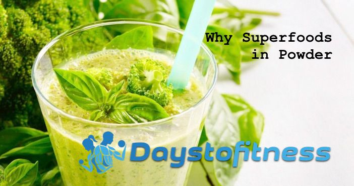 why superfoods in powder