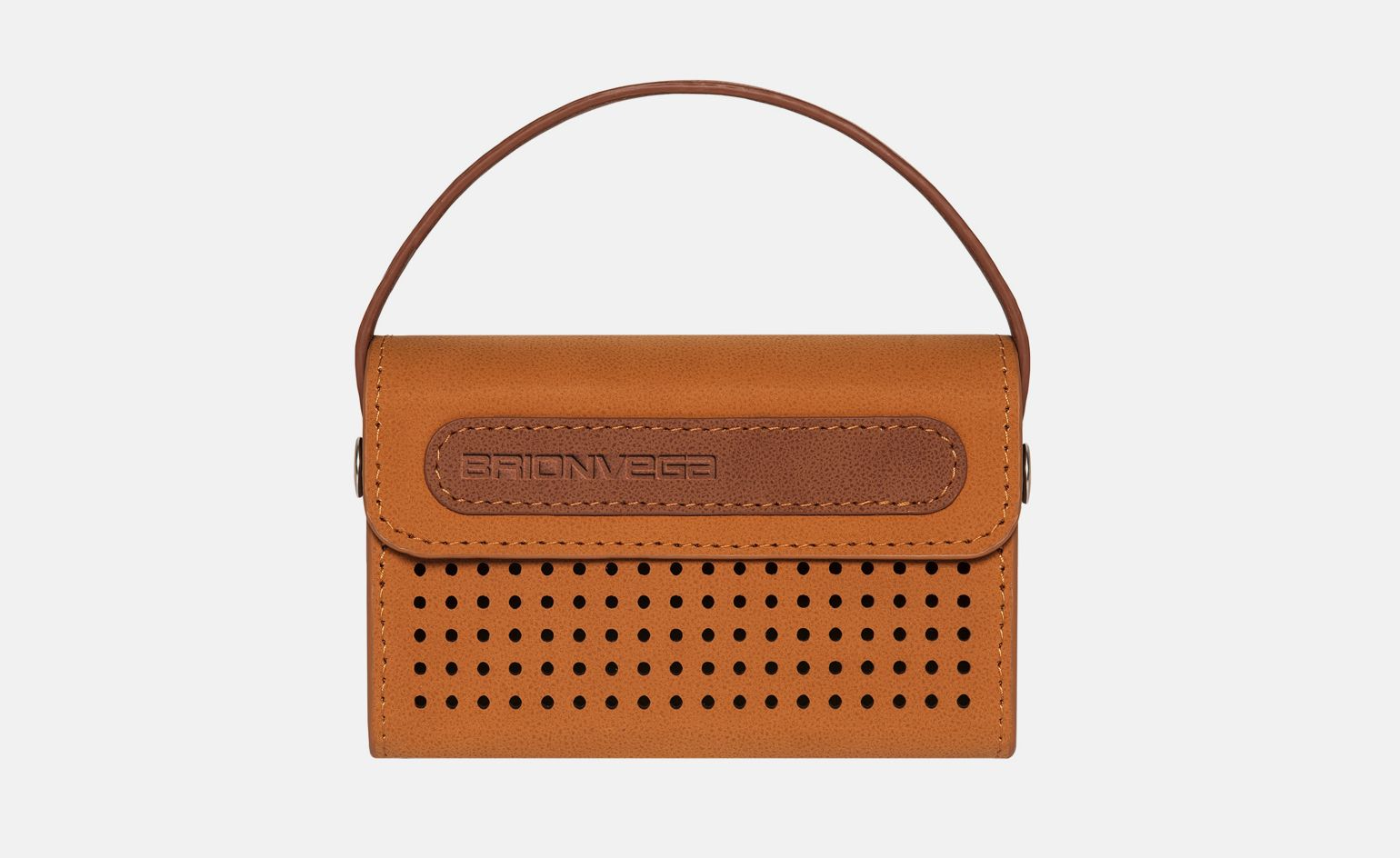 Michael Young has collaborated withItalian audio brand Brionvega to createWearIt, a new portable speaker design that expertly pairs the past with the present