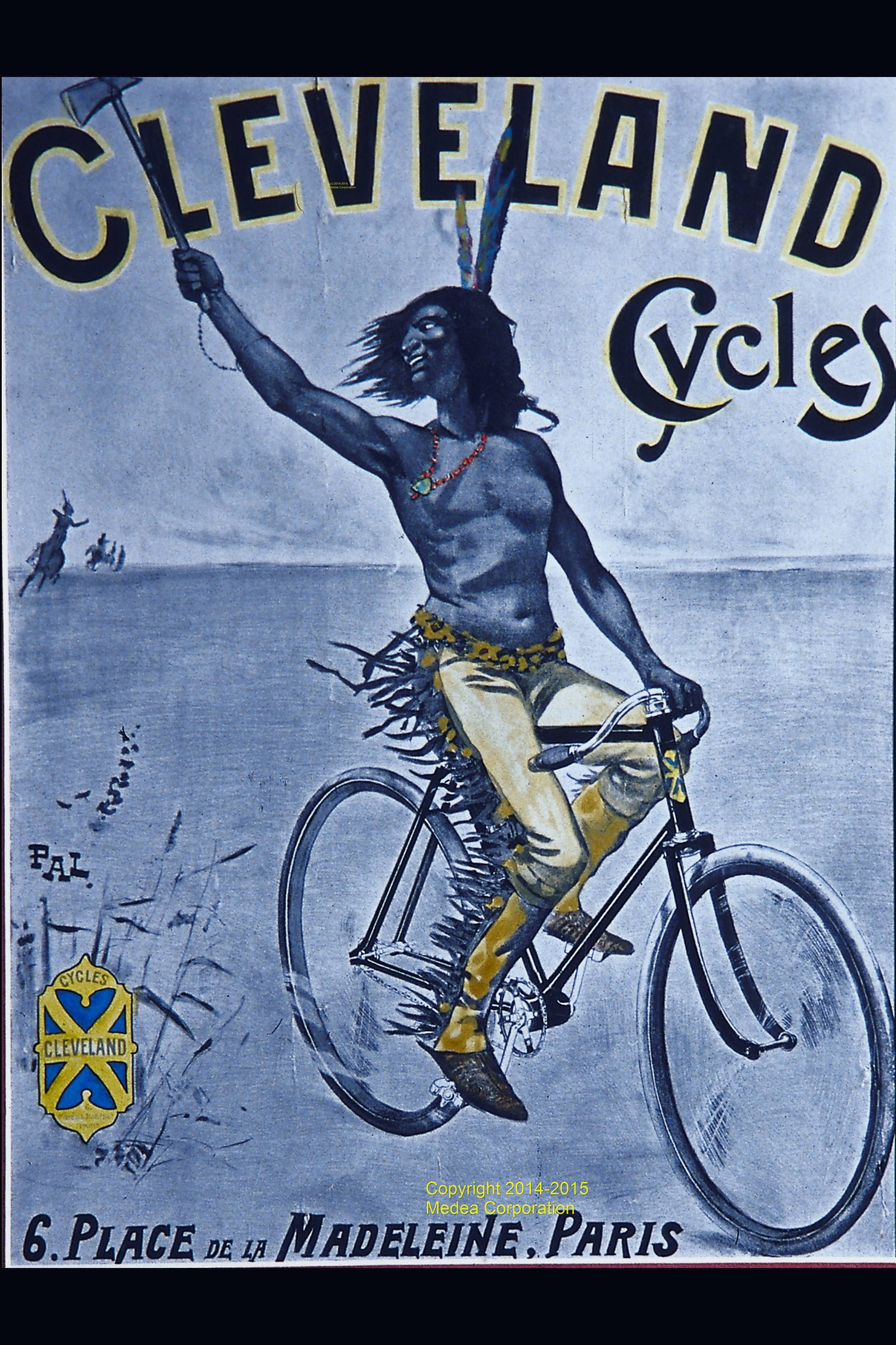 Cleveland Cycles was in Paris, France