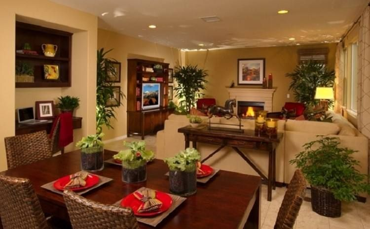 Living Room Kitchen Combo Decorating Ideas In 2020 Living Room Dining Room Combo Dining Room Combo Living Dining Combo